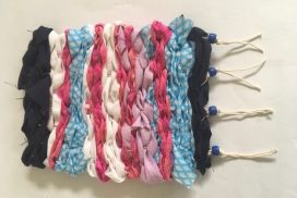 Virtual Family Fun: Rag Weaving