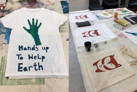 Intro to Screen Printing on Textiles with Kate Strachan